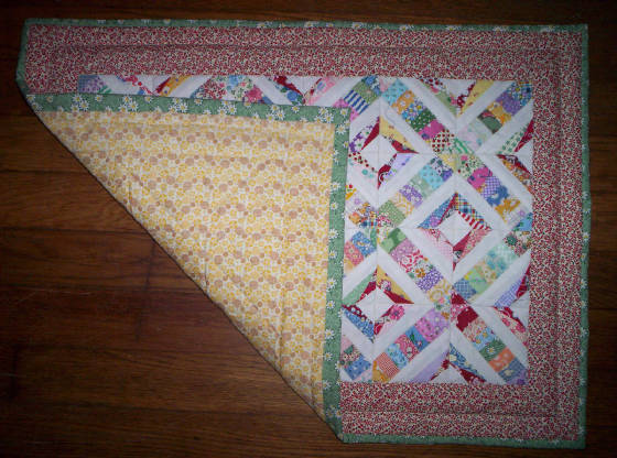 1930s Reproduction Miniature Quilt Block Free Pattern