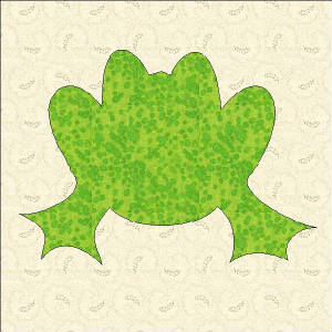 APPLIQUE FREE FROG PATTERN « PATTERNS