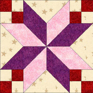 50 States- Kentucky Free Star Quilt Block Pattern : free star quilt block patterns - Adamdwight.com